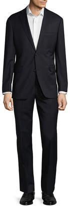 Saks Fifth Avenue Wool Notch Lapel Suit