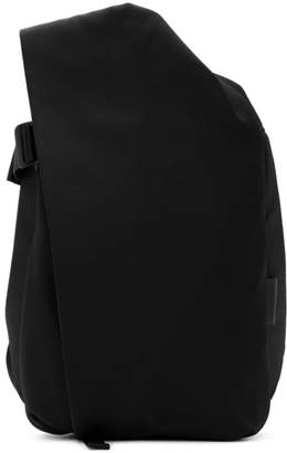 Côte and Ciel Black EcoYarn Medium Isar Backpack
