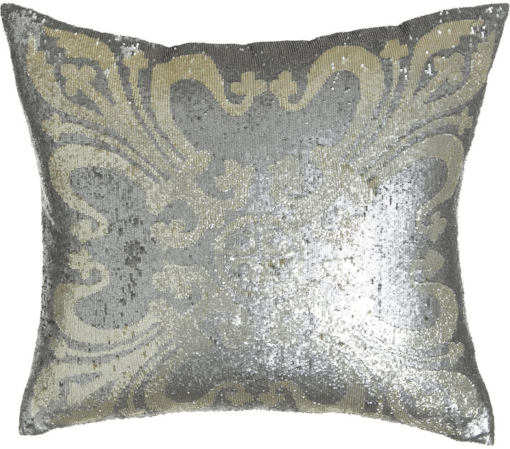 "Callisto Callisto Home Sequined Pillow, 22""Sq."