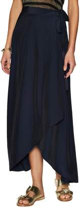 Calypso St. Barth Women's Durina Wrapped High-Low Skirt