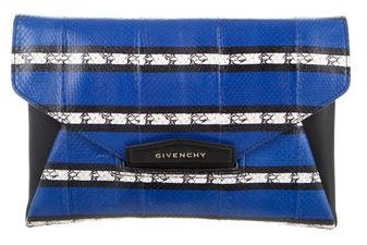 Givenchy Givenchy Medium Snakeskin Antigona Clutch