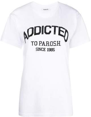 P.A.R.O.S.H. rhinestone logo T-shirt