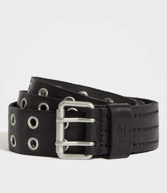 AllSaints Sturge Leather Belt