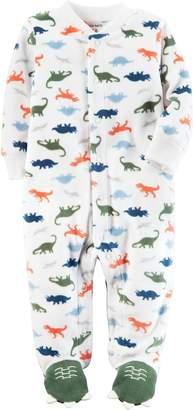 Carter's Baby Boys' Dino Print Footies