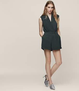 Reiss Louise Wrap-Front Playsuit