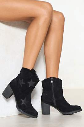 Nasty Gal Walking On the Moon Star Boot