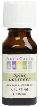 Aura Cacia Lavender (Spike), Essential Oil, 0.5-Ounce Bottle by