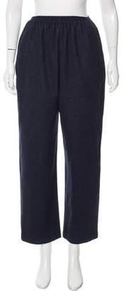 eskandar High-Rise Wool Pants