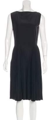 Miu Miu Accordion Pleat Dress