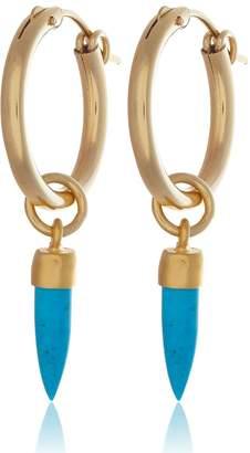 Harry Rocks - Turquoise Spike Earrings