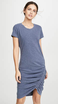 Sundry Ruched Tee Dress