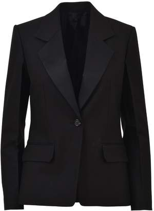 Helmut Lang Black Blazer With Button