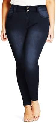 City Chic Asha Skinny Jeans