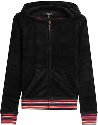 Juicy Couture Embroidered Velour Hoodie $309 thestylecure.com