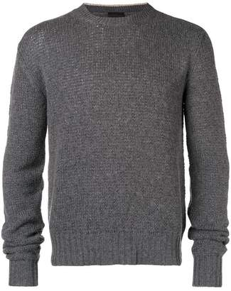 Prada collar insert sweater