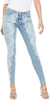 GUESS (ゲス) - ゲス GUESS SEXY CURVE BLEACHED LACE DENIM PANT