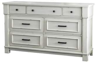 Sun & Pine Raylan Dresser Antique White - Sun & Pine