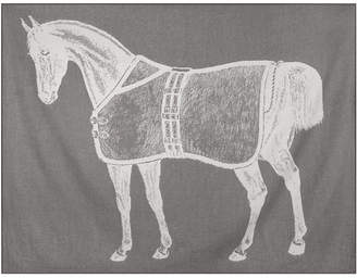 Thomas Paul Thoroughbred Alpaca Throw - Charcoal