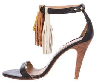 Ulla Johnson Leather Ankle Strap Sandals