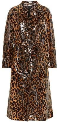 Miu Miu Leopard-printed coat