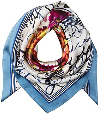 Vince Camuto Women's Love Letter Silk Square Scarf