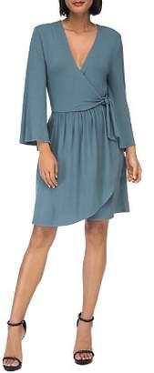Diane von Furstenberg B Collection by Bobeau Forrest Faux-Wrap Dress