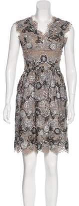 Burberry Lace Jacquard Dress