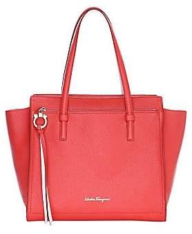 46d22f732b Salvatore Ferragamo Women s Medium Amy Leather Tote Bag