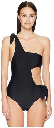 Jonathan Simkhai Classic Bandeau One-Piece Women's Swimsuits One Piece