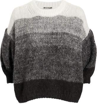 Caroline Constas Grey Ombre Sweater