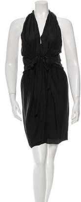 Stella McCartney Silk Halter Dress