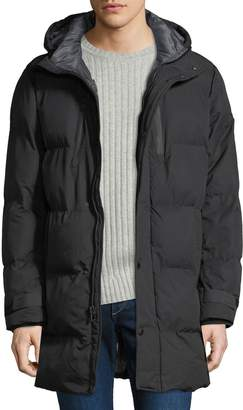 MICHAEL Michael Kors Men's Quilted Hooded Puffer Jacket