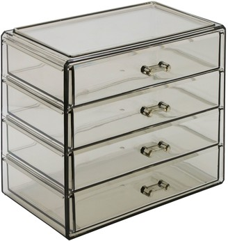 Sorbus Makeup & Jewelry Storage Case Display- 4Drawers