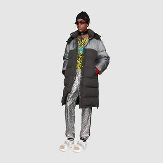 Gucci Laminated sparkling GG jersey jogging pant