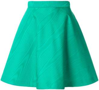 MSGM high-waisted skater skirt