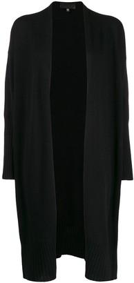 Nili Lotan knit open front longline cardigan