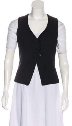 Giorgio Armani Wool Button-Up Vest