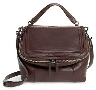 Vince Camuto Large Patch Leather Crossbody Bag