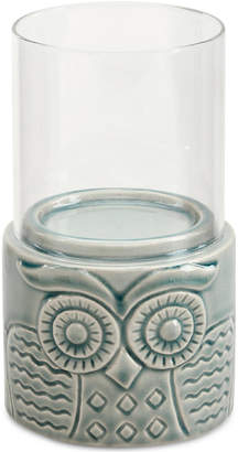 Madison Park Meera Ceramic Candle Holder Small