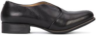 Yohji Yamamoto layered slit loafers $1,500 thestylecure.com