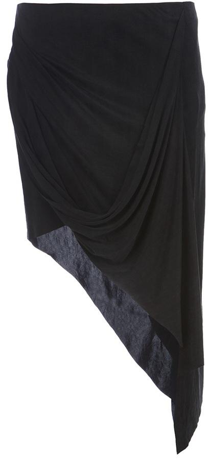 Helmut Lang asymmetric skirt