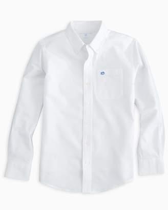 Southern Tide Boys Oxford Shirt