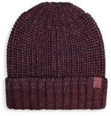 Bickley + Mitchell Cable Knit Wool-Blend Beanie