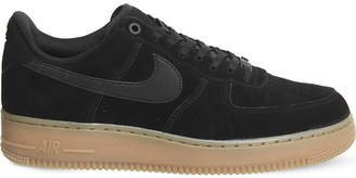 Nike Force 1 suede trainers