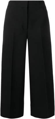 MSGM high-waisted cropped trousers