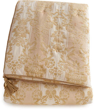 Horchow Austin Horn Classics Queen Antoinette Chenille Comforter
