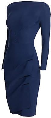 Chiara Boni Women's Cassandre Boatneck Sheath Dress