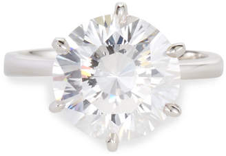 FANTASIA Round-Cut Solitaire CZ Ring Size 8