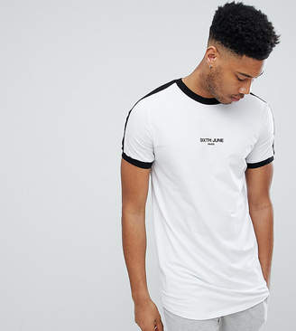 Asos Sixth June Muscle T-Shirt In White exclusive to