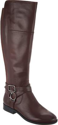 Marc Fisher Medium Calf Leather Tall Shaft Boots - Aliza